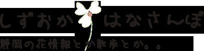 しずおかはなさんぽ〜静岡県の花情報とか散歩とか。。