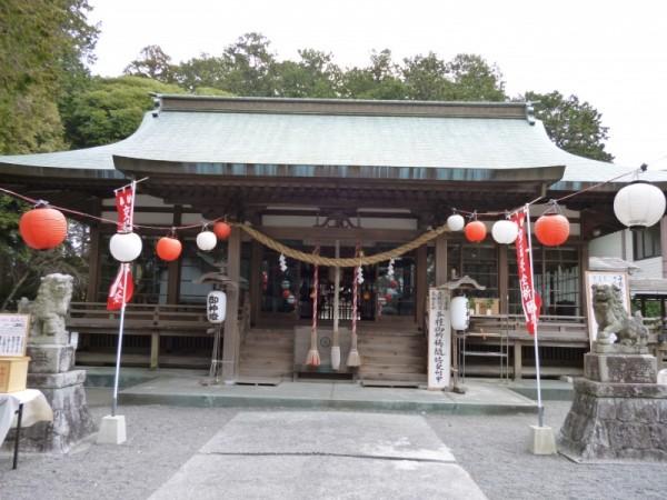 龍尾神社にお参り
