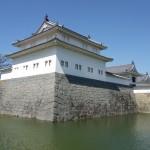 巽櫓は駿府城二ノ丸の東南角に設けられた三層二重の隅櫓