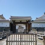 東御門は駿府城二ノ丸の東に位置する主要な出入口
