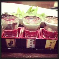北海道の地酒も堪能